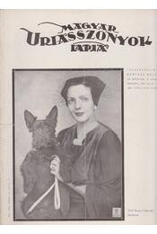 Magyar Uriasszonyok Lapja 1936. XIII. évf. 13. szám - Kertész Béla - Régikönyvek