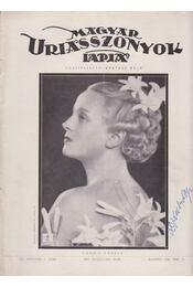 Magyar Uriasszonyok Lapja 1936. XIII. évf. 6. szám - Kertész Béla - Régikönyvek