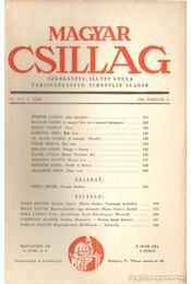Magyar Csillag 1944. február 3. szám - Illyés Gyula - Régikönyvek