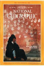 National geographic 1988 July - Grosvenor, Gilbert M. (főszerk.) - Régikönyvek