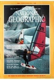 National geographic 1988 March - Grosvenor, Gilbert M. (főszerk.) - Régikönyvek