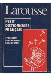 Petit dictionnaire Francais - Régikönyvek