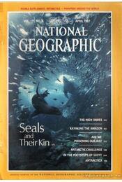 National geographic 1987 April - Garrett, Wilbur E. - Régikönyvek