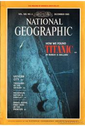 National geographic 1985 December - Garrett, Wilbur E. - Régikönyvek