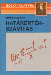 Határértákszámítás - Urbán János - Régikönyvek