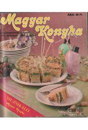 Magyar Konyha 1989. XIII. évfolyam (teljes) - F. Nagy Angéla - Régikönyvek