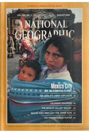 National geographic 1984 August - Garrett, Wilbur E. - Régikönyvek