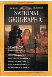 National geographic 1983 November - Bell Grosvenor, Melville - Régikönyvek