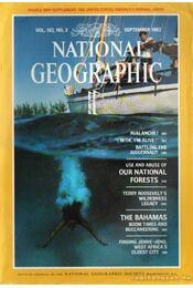 National geographic 1982 September - Bell Grosvenor, Melville - Régikönyvek