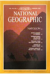 National geographic 1982 February - Bell Grosvenor, Melville - Régikönyvek