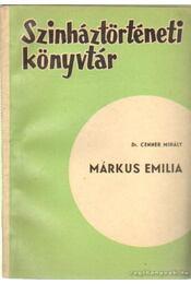 Márkus Emillia - Cenner Mihály - Régikönyvek