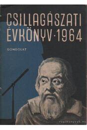 Csillagászati évkönyv 1964 - Régikönyvek
