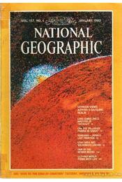 National Geographic 1980 January - Bell Grosvenor, Melville - Régikönyvek