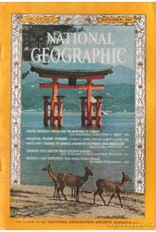 National geographic 1967 September - Bell Grosvenor, Melville - Régikönyvek
