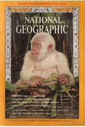 National geographic 1967 March - Bell Grosvenor, Melville - Régikönyvek