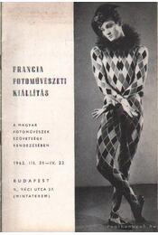 Francia fotoművészeti kiállítás - Régikönyvek