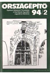 Országépítő 94/2 - Régikönyvek