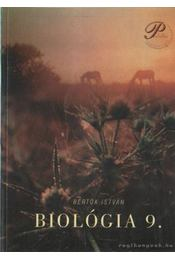 Biológia 9 - Bertók István - Régikönyvek
