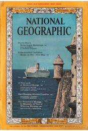 National geographic 1962 December - Bell Grosvenor, Melville - Régikönyvek