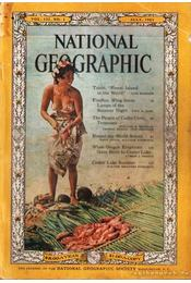 National Geographic 1962 July - Bell Grosvenor, Melville - Régikönyvek