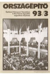 Országépítő 93/3 - Régikönyvek