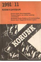 Korunk 1991/11 - Kántor Lajos - Régikönyvek