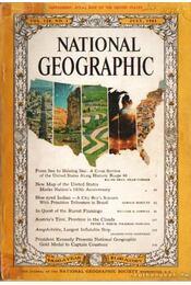 National geographic 1961 July - Bell Grosvenor, Melville - Régikönyvek