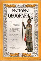 National geographic 1961 February - Bell Grosvenor, Melville - Régikönyvek