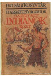 Tizenöt hét indiánok közt - Haraszthy Ágoston - Régikönyvek