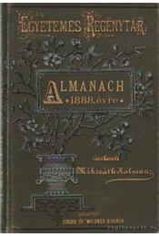 Almanach 1888. évre - Mikszáth Kálmán - Régikönyvek