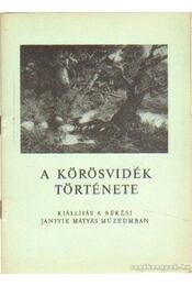 A Körösvidék története - Mészáros Vince - Régikönyvek