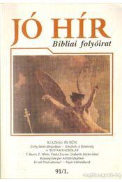 Jó Hír 1991/1 - Régikönyvek