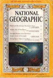 National geographic 1960 April - Bell Grosvenor, Melville - Régikönyvek