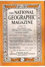 The national geographic magazine 1959 August - Bell Grosvenor, Melville - Régikönyvek