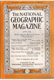The national geographic magazine 1959 June - Bell Grosvenor, Melville - Régikönyvek