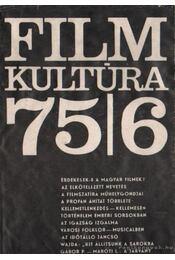 Film Kultúra 1975/6 - Több szerző - Régikönyvek