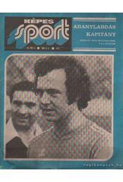 Képes sport 1977. 24. évfolyam (hiányos) - Kutas István - Régikönyvek
