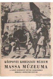 Központi Kohászati Múzeum Massa Múzeuma - Régikönyvek