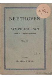Beethoven - Symphonie Nr. 9 dmoll Opus 125 - Régikönyvek
