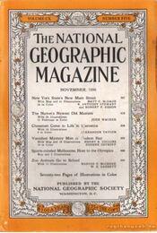 The National Geographic Magazine 1956, November - la Gorce, John Oliver (szerk.), Bell Grosvenor, Melville - Régikönyvek