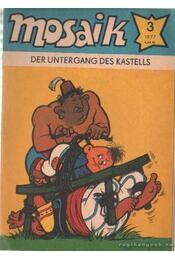 Der untergang des kastells - Mosaik 1977/3 - Régikönyvek
