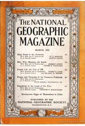 The National Geographic Magazine 1956, March - la Gorce, John Oliver (szerk.), Bell Grosvenor, Melville - Régikönyvek
