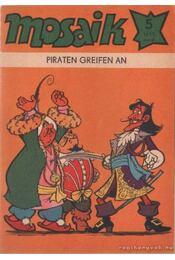Piraten greifen an - Mosaik 1977/5 - Régikönyvek