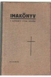 Imakönyv - Vass János - Régikönyvek