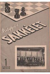 Magyar sakkélet 1956. év (teljes) - Régikönyvek