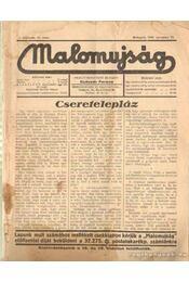 Malomújság 1936. augusztus 1. - Régikönyvek