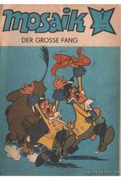 Der grosse fang - Mosaik 1978/7 - Régikönyvek