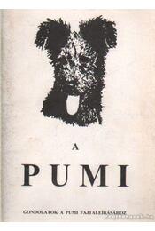 A pumi - Länger György, Länger Tamara - Régikönyvek