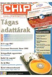 Chip 2002. március 3. szám - Ivanov Péter ( főszerk.) - Régikönyvek