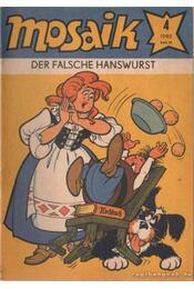 Der falsche hanswurst - Mosaik 1980/4 - Régikönyvek